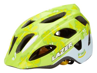 Lazer - Cykelhjelm - P'Nut Flower Green - 46-50 cm