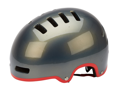 Lazer - Cykelhjälm - Armor - Grå med röd linje - 58-61 cm