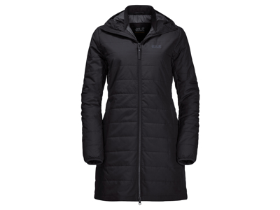 Jack Wolfskin Maryland Coat - Fiberjakke dame - Sort