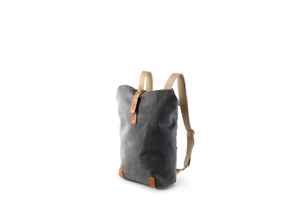Image of   Brooks rygsæk - Pickwick backpack - Grå/honey - 12 Liter