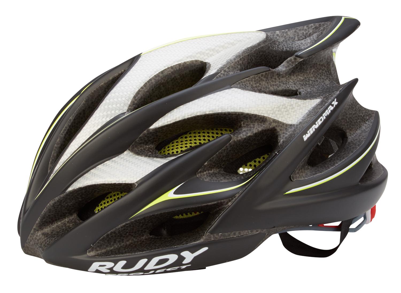Rudy Project Windmax cykelhjelm - Sort/gul/fluo | Helmets
