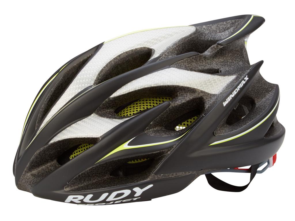 Image of   Rudy Project Windmax - Cykelhjelm Str. 54-58 cm - Sort-Gul-Fluo