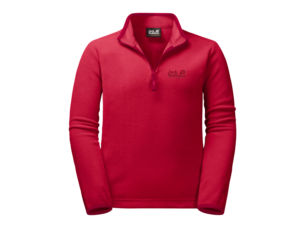 Jack Wolfskin Gecko - Fleece pullover - Kids - Str. 164 - Red lacquer thumbnail