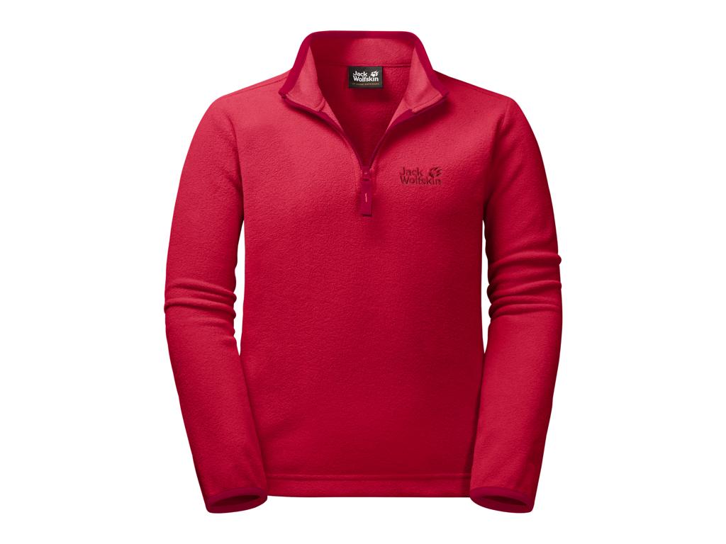 Jack Wolfskin Gecko - Fleece pullover - Kids - Str. 164 - Red lacquer thumbnail