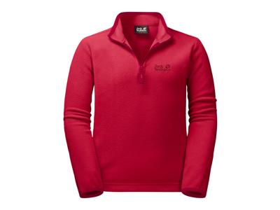 Jack Wolfskin Gecko - Fleece pullover - Kids - Str. 164 - Röd