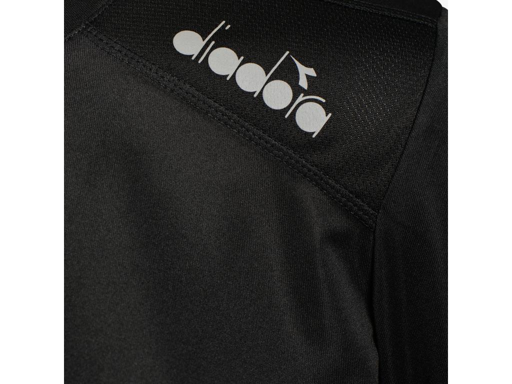Diadora L. X Run LS T Shirt Lange Ærmer Dame Sort (DKK