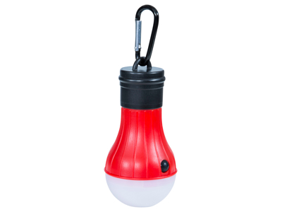 Trespass Glow Worm - Teltlampe LED - Rød