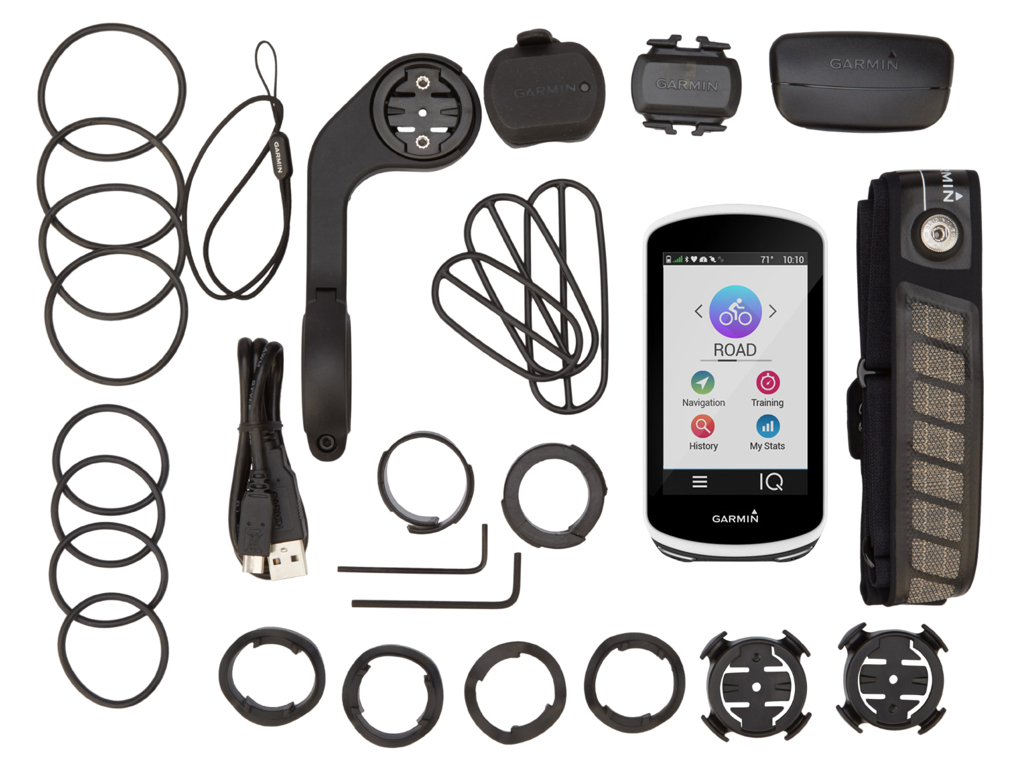 Garmin Edge 1030 Bundle - GPS Cykelcomputer thumbnail