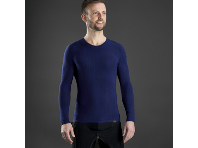 GripGrab Freedom Seamless Thermal Base Layer - Svedundertrøje - Navy blå