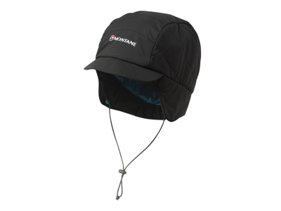 Montane Featherlite Mountain Cap - Fiber hue - Sort