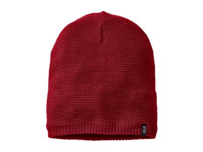 Jack Wolfskin Stormlock Knit Beanie - Hue Vindtæt - Rød - OS