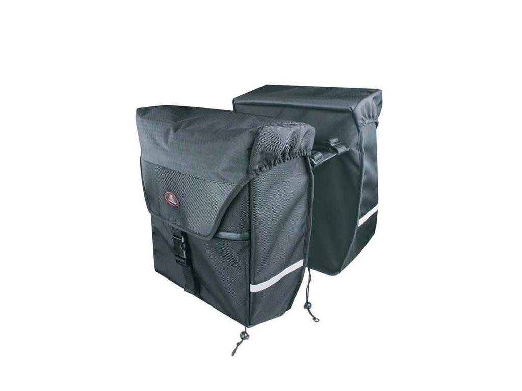 Image of   Easydo - ED-2602 - Taske til bagagebærer - Elcykel - 29 Liter - Sort