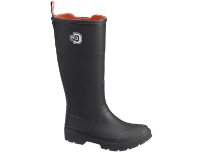 Didriksons Koster Womens Rubber Boots - Gummistøvle Dame - Sort