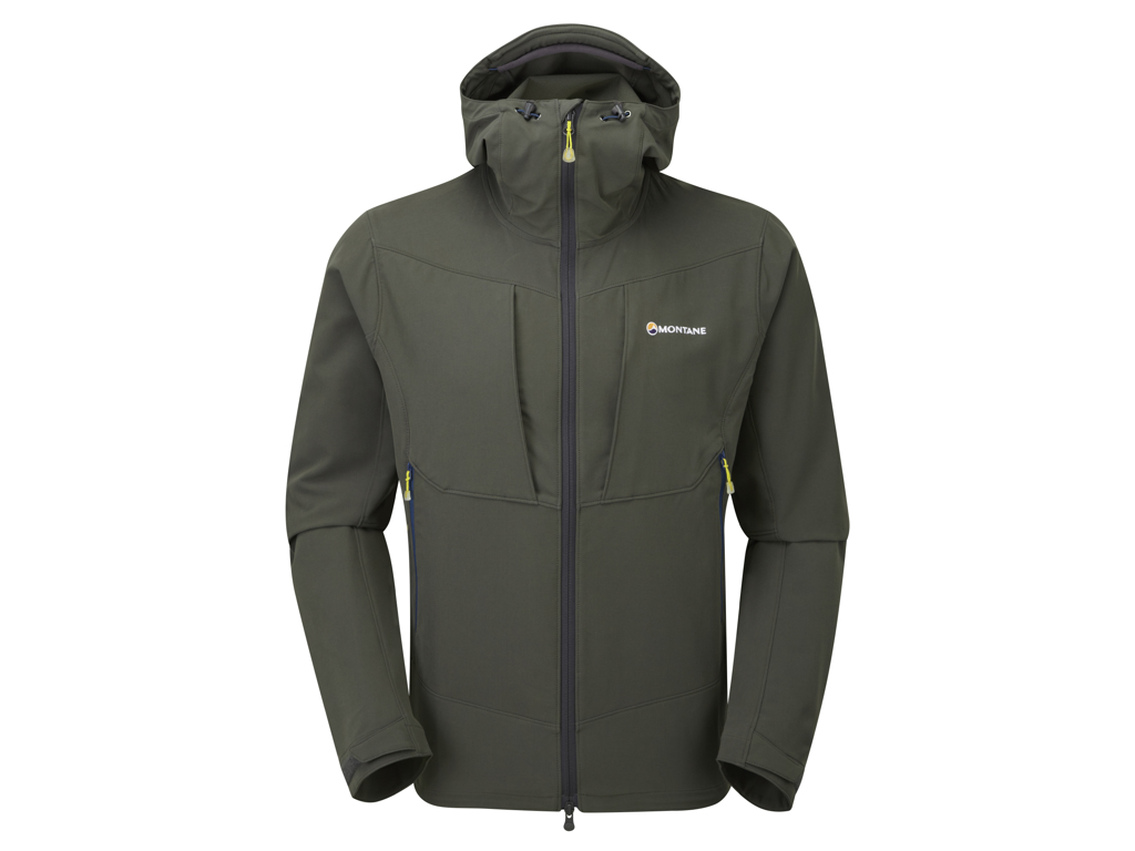 Image of   Montane Dyno Stretch Jacket - Softshell Mand - Grå - Large
