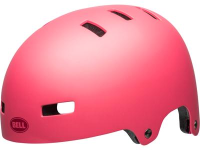 Bell Local - Cykel- og Skaterhjelm - Mat lyserød