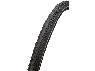 Atredo dekk - 2,5 mm punkteringsbeskyttelse - Størrelse 700x35C (37-622) - Svart / reflekterende