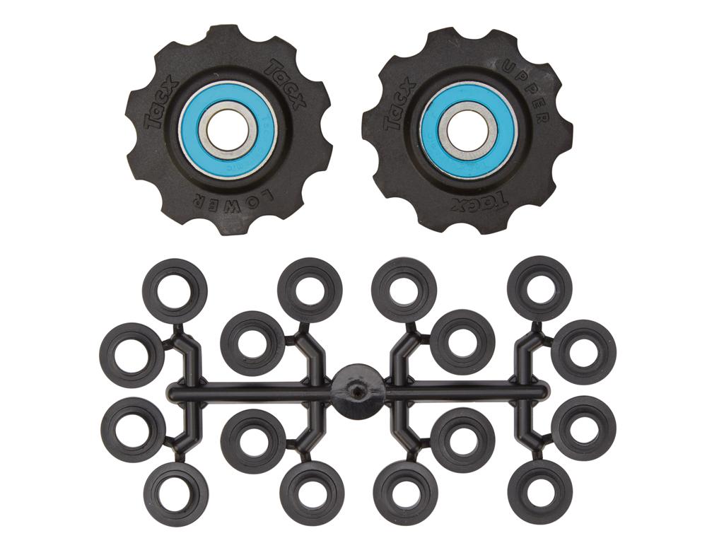 Image of   Tacx pulleyhjul med 10 tænder - Med keramiske lejer og teflon