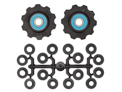 Tacx pulleyhjul med 10 tænder - Med keramiske lejer og teflon