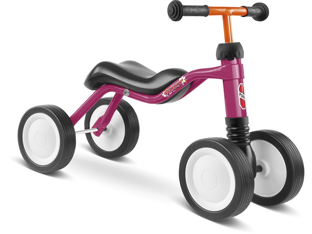 Image of   Puky - Wutsch - Løbecykel - fra 1,5 år/ 80 cm - Pink/Hindbærfarvet