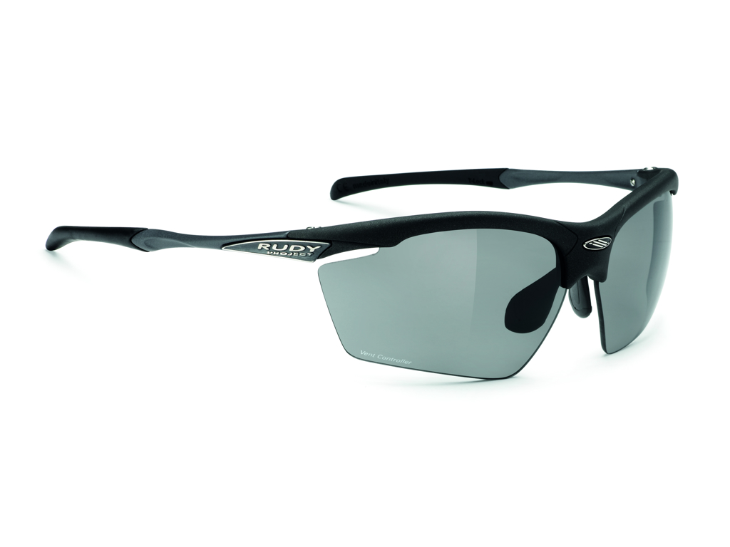Image of   Rudy Project Agon - Løbe- og cykelbrille - Smoke linser - Mat Sort