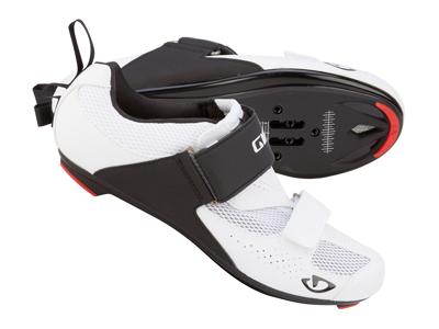 Cykelsko Giro Inciter Triathlon Herre Hvid/Sort