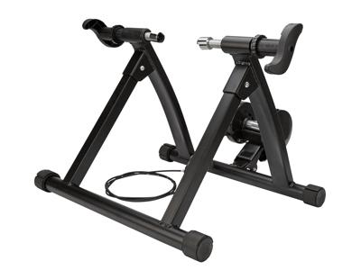 Atredo - Q3 Cykeltrainer - Justerbar - 7 steg - Aluminium - Svart - 950 Watt