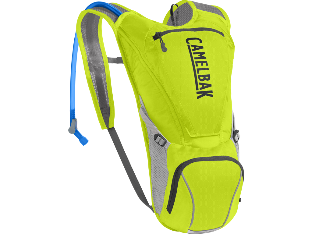 Camelbak Rogue - Rygsæk 5L med 2,5 L vandreservior - Lime Punch/Silver