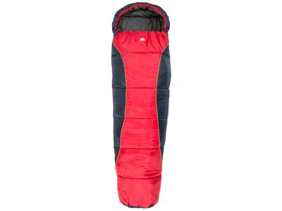 Trespass Bunka - Junior-sovepose - Letvægt - 175 x 65 x 45 cm - Rød