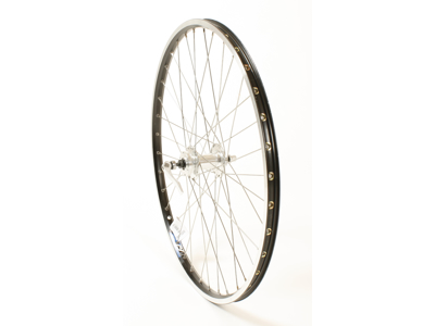 Connect MTB forhjul - 26 x1,75 - Disk 6 bolt montering - Sort/sølv