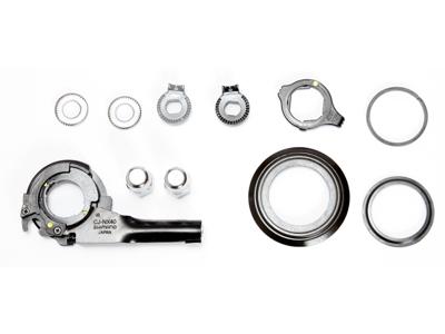 Komponentsæt til Shimano Nexus 7 gear med friløb/rullebremse