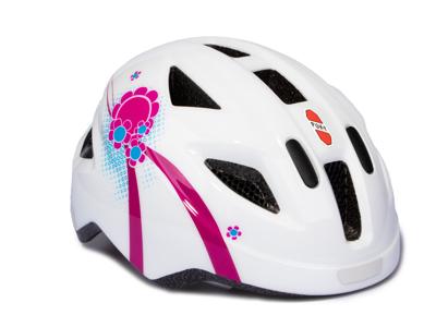 Puky PH 8 - Cykelhjelm - Str. 45-51 cm - Hvid/pink