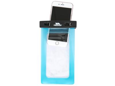 Trespass-Pool Party - Vandtæt opbevaringspose til mobiltelefon - Aqua
