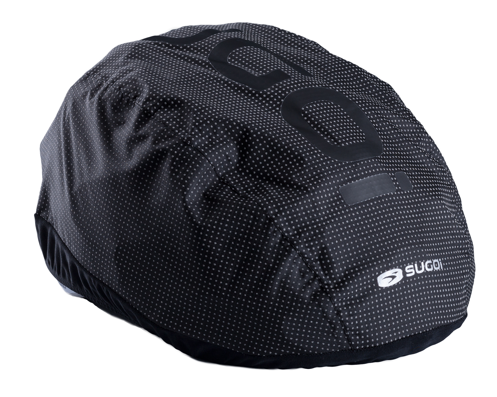SUGOi Zap 2.0 - Hjelmcover - sort reflekterende | helmets_other_clothes