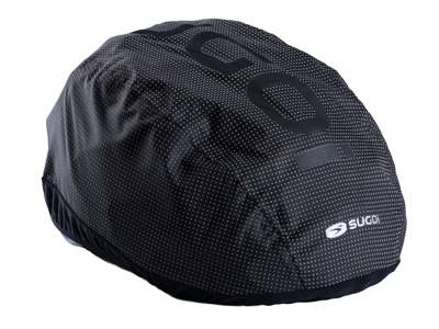 SUGOi Zap 2.0 - Hjelmcover - sort reflekterende