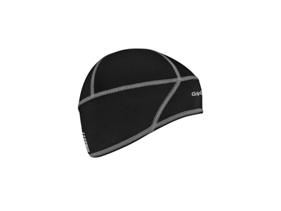 GripGrab Letvægts Thermo Skull Cap - Junior hjelmhue - Sort - Str. 51-54 cm