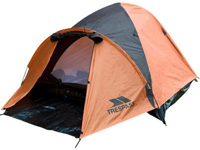 Trespass Ghabhar - 4 personers tält - Rött
