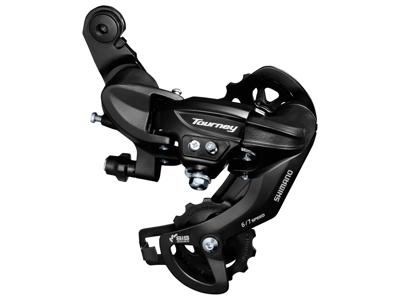 Shimano Tourney - Bagskifter RD-TY300 Sort - Til 6 eller 7 gear - Til direkte montering