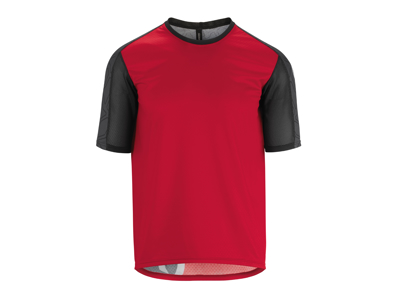 Assos Trail SS Jersey - MTB Cycling Jersey - Red