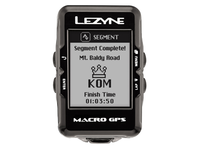 Lezyne Macro GPS HR Loaded - Cykelcomputer - Bundle med pulsbælte
