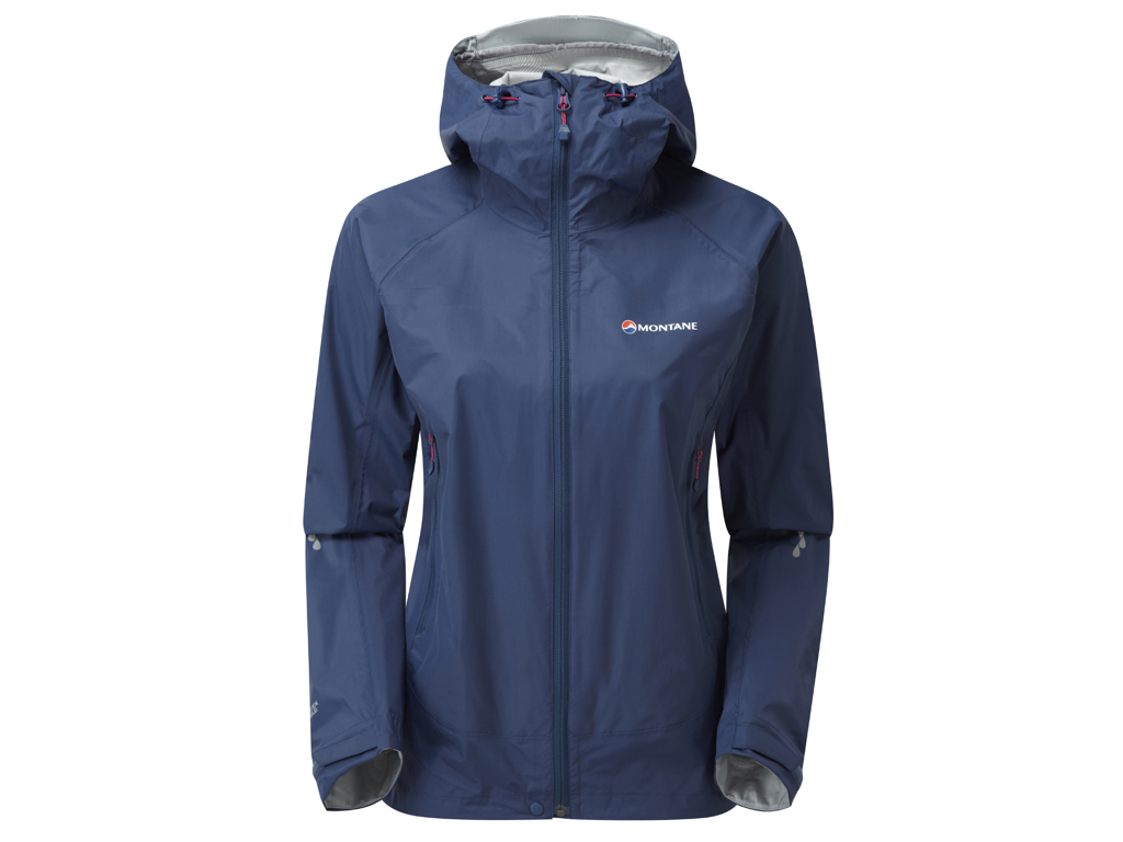 Image of   Montane Womens Atomic Jacket - Skaljakke Dame - Blå - 36