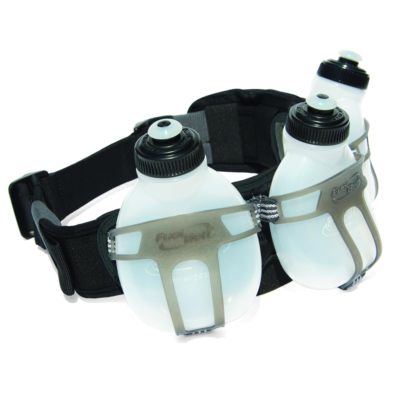 FuelBelt Revenge Bottle Belt til 3 flasker - Væskebælte til løb og træning inkl. 3 flasker | Bottles