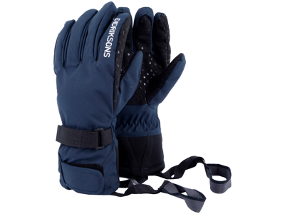 Didriksons Five Youth Gloves - Handske Børn - Navy Str. 7