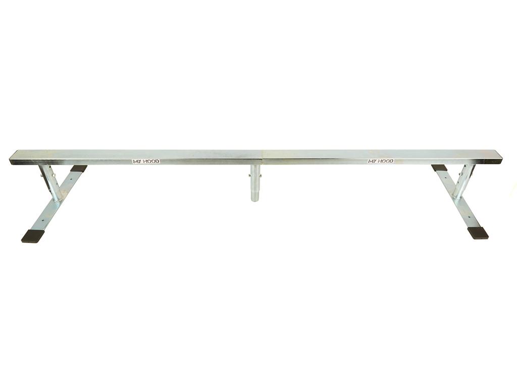 Billede af Grind rail - My Hood 180 cm lang - Stål