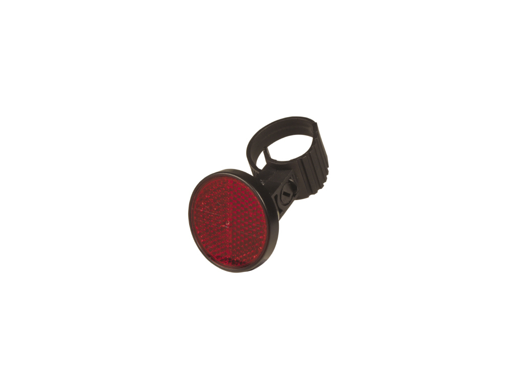 Refleks rød med PVC spændebånd