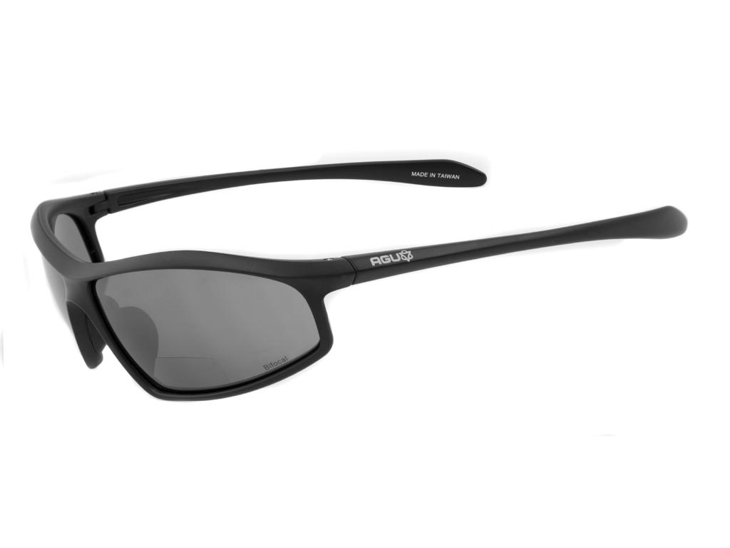 AGU Masuto Bifocal - Cykelbriller med læsefelt - Sort