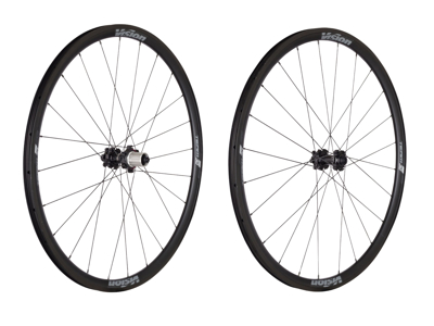 Vision Team 30 Disc Center Lock - Hjulsæt - 700c - Clincher - Sort