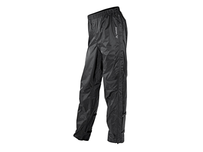 Vaude Fluid Full-Zip - Regnbukser - Sort