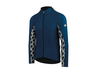 Assos Mille GT Spring Fall LS Jersey - Cykeltrøje m. lange ærmer - Blå