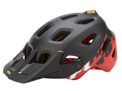 Mavic Crossmax Pro - MTB cykelhjelm - Sort/rød - Str. L