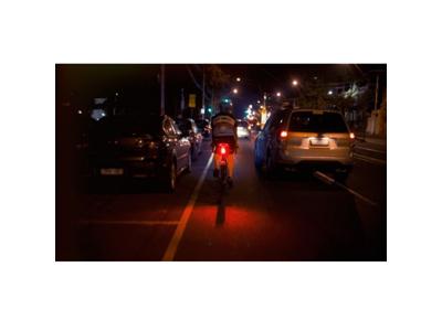 Knog - Cykellygte bag Blinder road R70 - Sort
